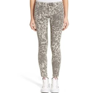 Current/Elliott The Welt Pocket Leopard Jeans